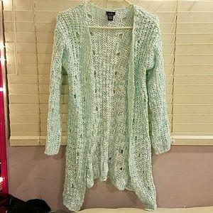 Warm Knit cardigan rue21 XS